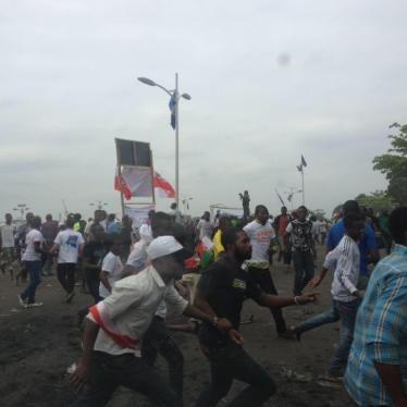 RD Congo : Les autorités impliquées dans une attaque contre des manifestants