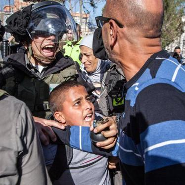Palestine: Israeli Police Abusing Detained Children