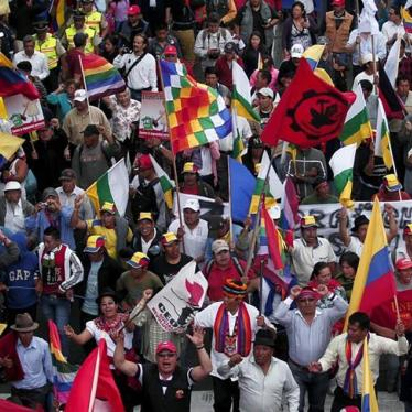 Ecuador's Human Rights Record Under Review
