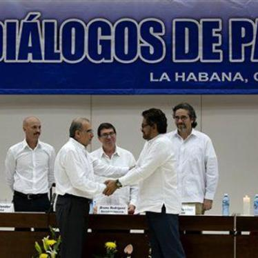 Colombia: Agreeing to Impunity