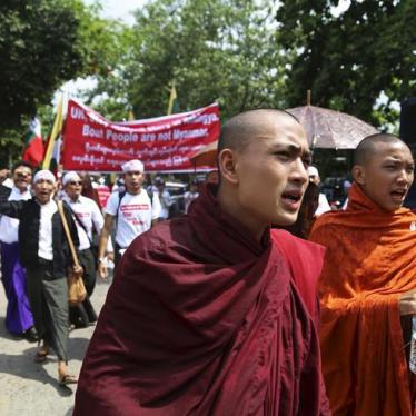 Burma: Discriminatory Laws Could Stoke Communal Tensions