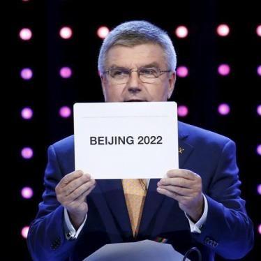 Chine : Les JO 2022 ne doivent pas engendrer de nouvelles violations des droits humains