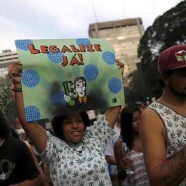 Brasil: Decisão sobre Porte de Drogas Deveria Promover Direitos