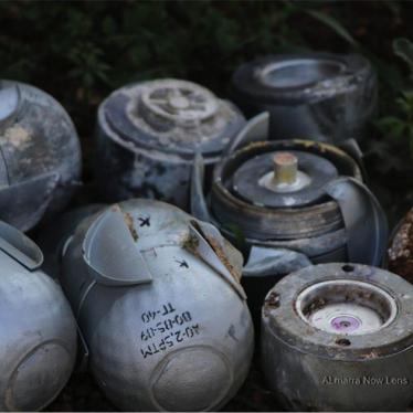 Russia/Syria: Extensive Recent Use of Cluster Munitions