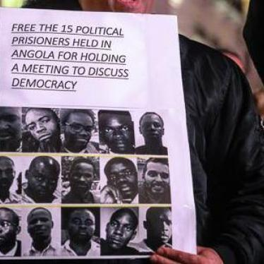 Dispatches: Jailed Angolan Activists Sent Home, but Saga Continues