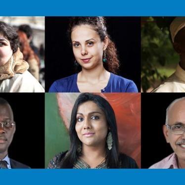 Human Rights Watch eert mensenrechtenactivisten