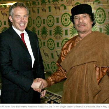 Dispatches: What Tony Blair Should be Asked About Libya