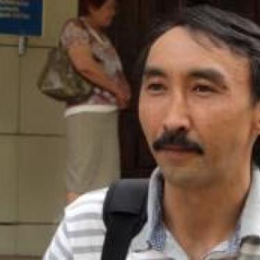 Kazakhstan: Activist Arrested