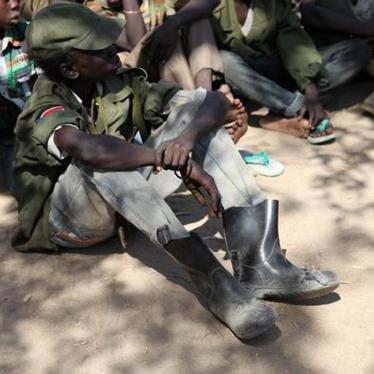 U.S. must get tough over child soldiers