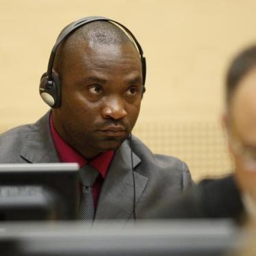 RD Congo : Un condamné de la CPI  poursuivi par la justice nationale