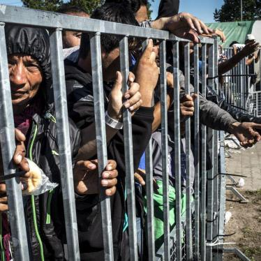 Hungary: Abysmal Conditions in Border Detention