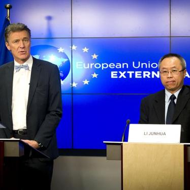 EU/China: Rights Dialogues Without Benchmarks Lack Impact