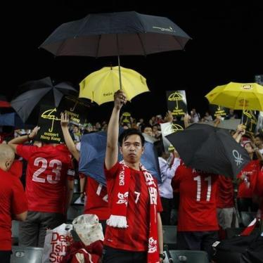 Dispatches: Who Will Show FIFA the Red Card on Hong Kong?
