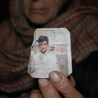 Dispatches: Pakistan Hangs Alleged Child Offender