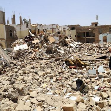 Dispatches: With Disabilities in Yemen, Left in the Rubble