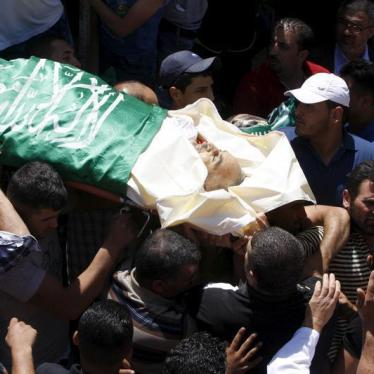 Israel/Palestine: Family Challenges Military on Fatal Shooting