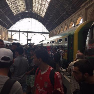 Dispatches: Stranded in Budapest's Train Station