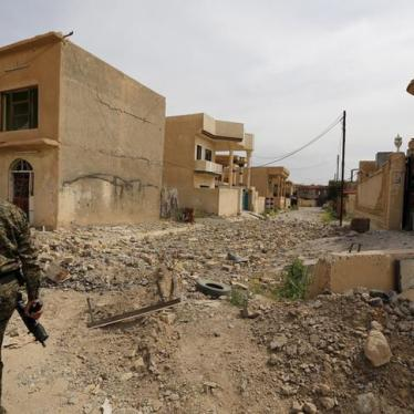 Iraq: Militia Abuses Mar Fight Against ISIS