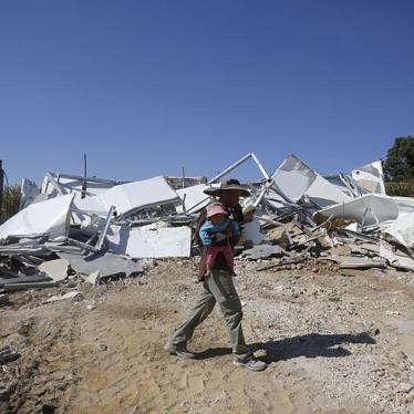 Israel: Surge in Unlawful Palestinian Home Demolitions