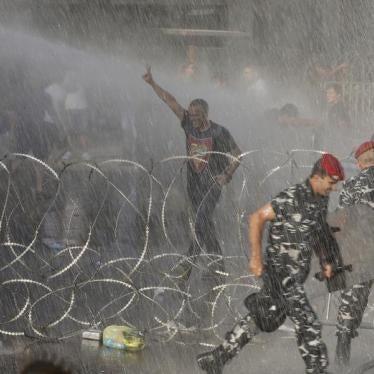 Liban : Violences policières contre des manifestants