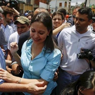 Venezuela: Inhabilitación arbitraria de candidatos