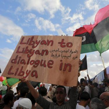 UN Human Rights Council should establish Independent Expert on Libya