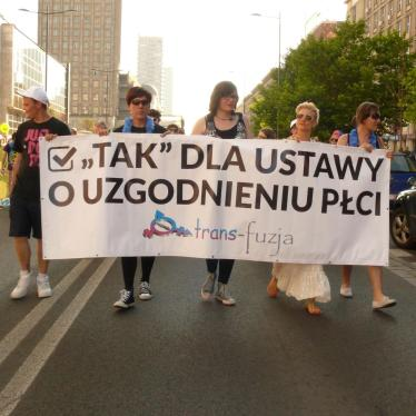 Dispatches: Transforming Transgender Rights in Poland