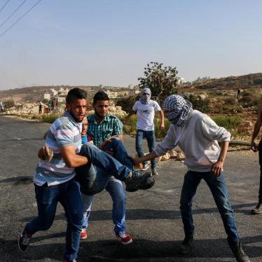 Israel/Palestine: Human Rights Watch Investigator Shot