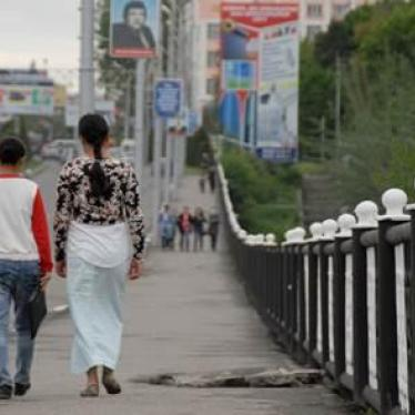 Kyrgyzstan:  New Domestic Violence Law