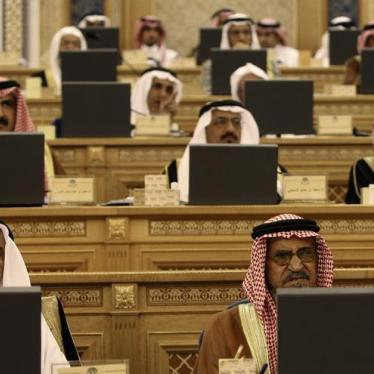 Dispatches: Better Late Than Never – Saudi Arabia Approves NGO Law