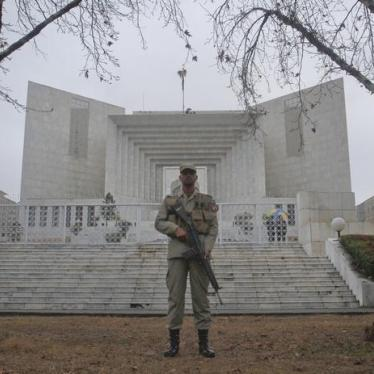 Dispatches: Pakistan's Military Courts Mistake