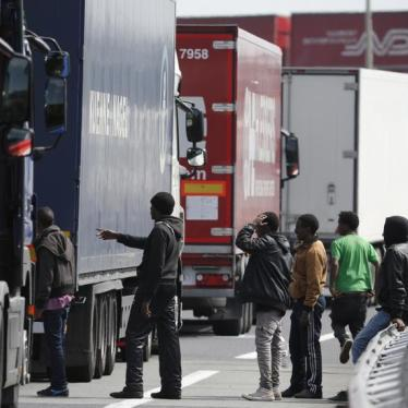 Dispatches: Cracking Down on Smugglers Won't Solve Calais Chaos