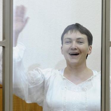 Наблюдения из зала суда – процесс Надежды Савченко