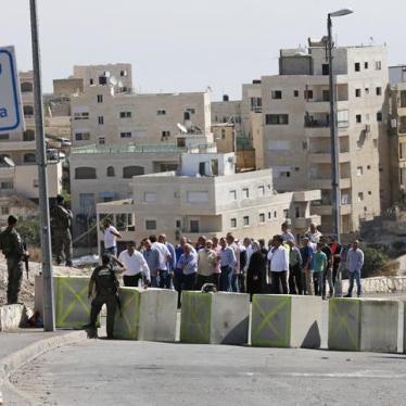 Israël / Palestine: Décès d'une femme palestinienne lié à un retard pris à un point de contrôle