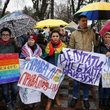 Dispatches: Ukraine Bans Anti-LGBT Discrimination at Work