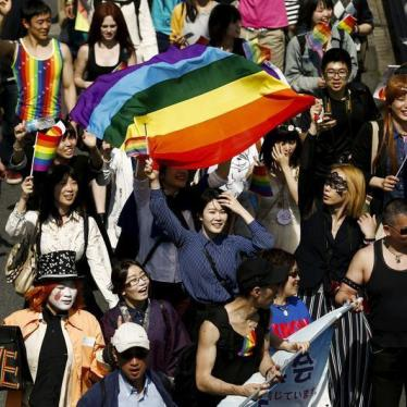 Dispatches: Japan's Evolving Public Debate on LGBT Rights