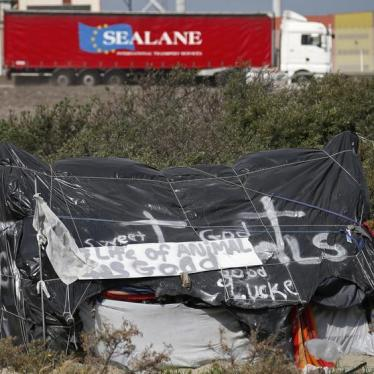 Dispatches: France - Enough Tragic Deaths in Calais