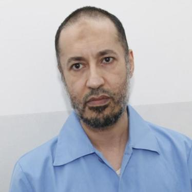Libye : Entretien avec le fils incarcéré de Mouammar Kadhafi
