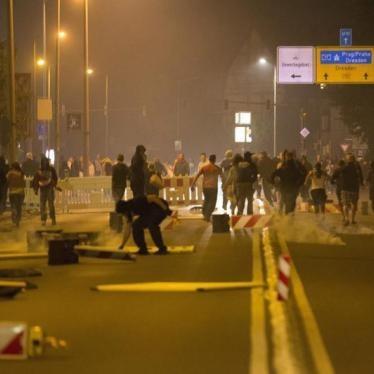 Achtung! Brandgefahr! Verbrechen gegen Flüchtlinge in Deutschland
