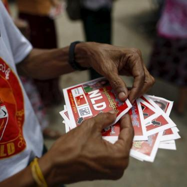 Dispatches: Militias and Electoral Intimidation in Burma