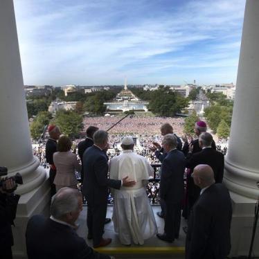 Mensaje del papa Francisco al Congreso de  EE.UU.