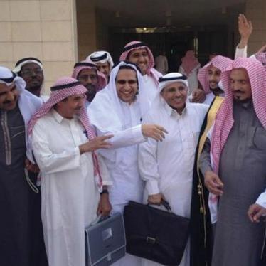 Saudi Arabia: Imprisoned Activist Earns Human Rights Award