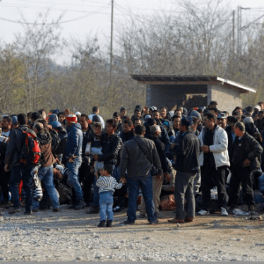 Dispatches: Discrimination at Western Balkan Borders Puts People at Risk
