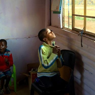 South African Official Brushes Off Children with Disabilities