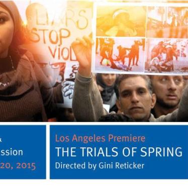 Film Club Screening of The Trials of Spring