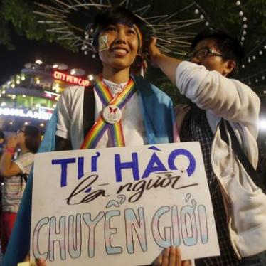 Vietnam: Positive Step for Transgender Rights