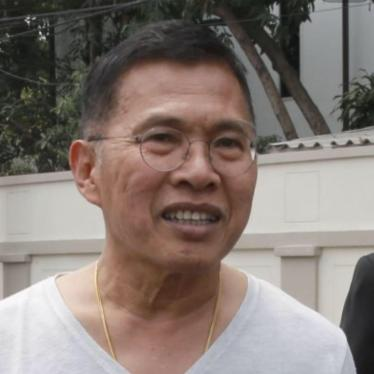 Thailand: Ex-Minister Detained for Rejecting Draft Charter