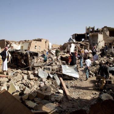 Yémen : Imposer un embargo sur les armes à destination de l'Arabie saoudite