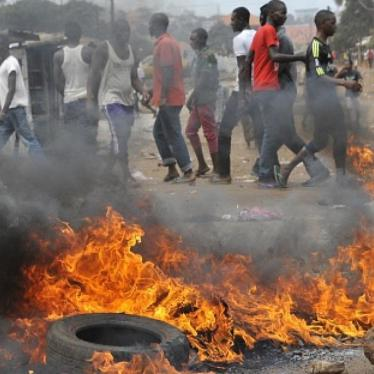 Guinea: Security Force Excesses, Crimes