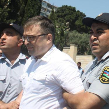 Azerbaijan Should Release Prominent Political Activist